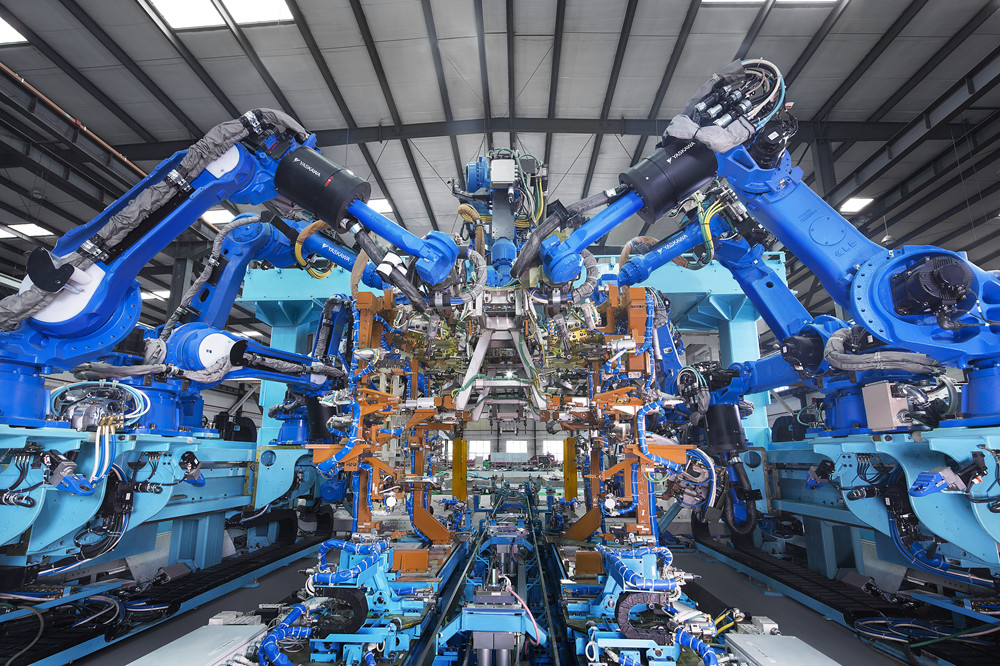 No.3线INN FRM'GW自动化生产线