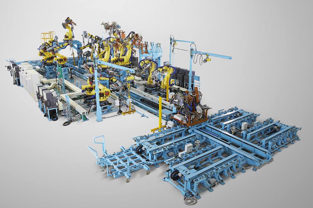 No.3线车头分总成自动化生产线