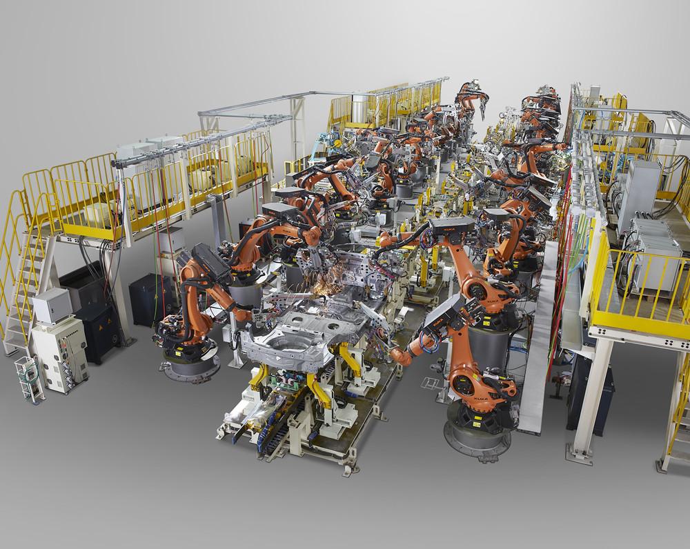 20万能扩焊装项目地板总成自动化生产线
