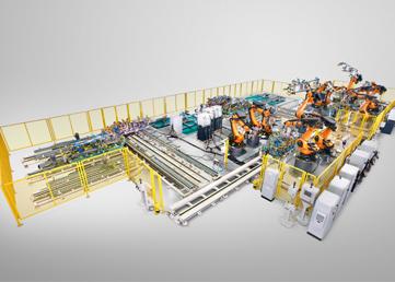 广汽乘用车20万能扩焊接自动化生产线全部完成出货